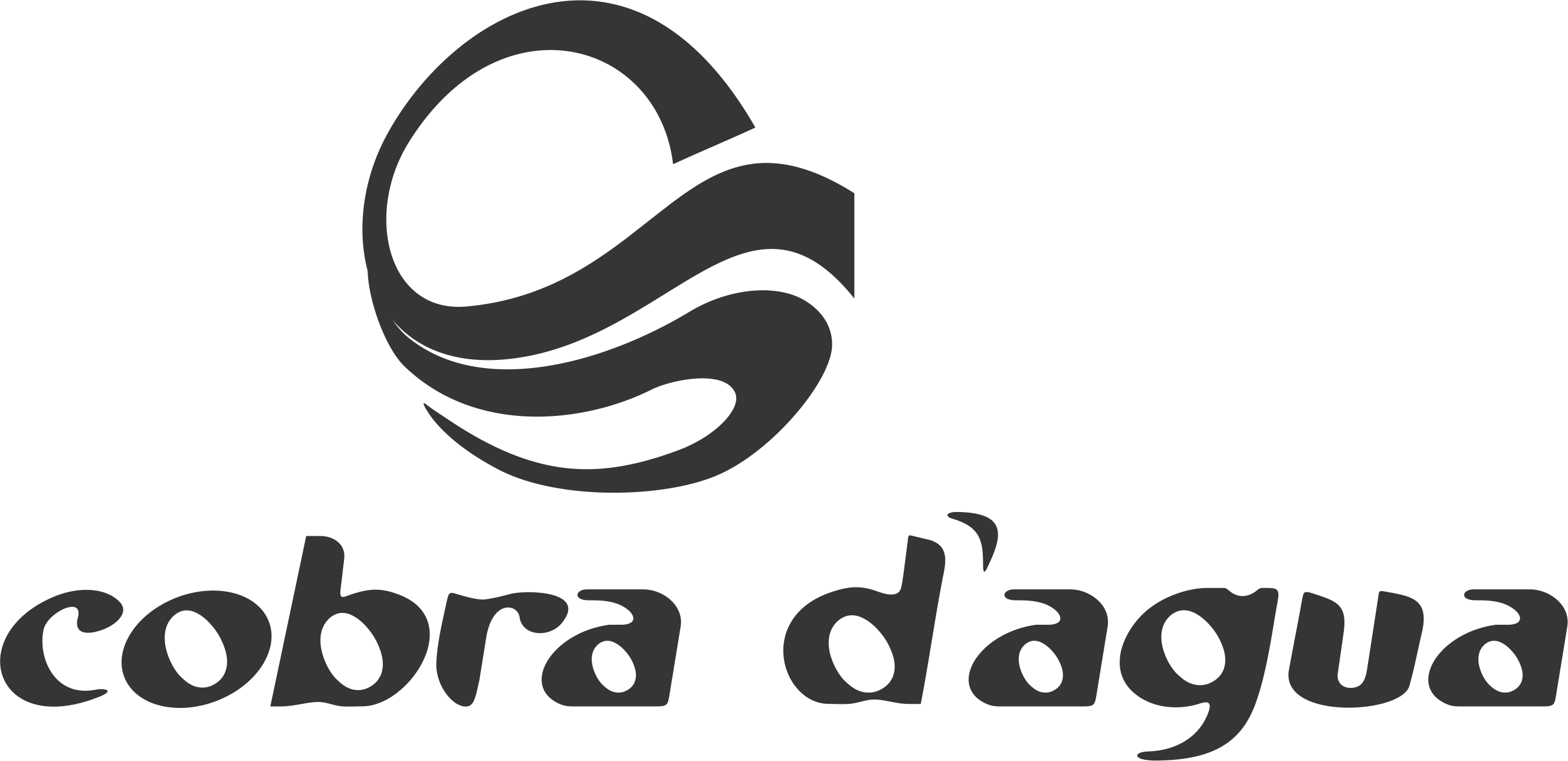 COBRA D'AGUA - Logo