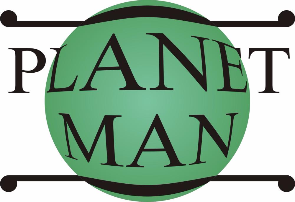 PLANET MAN - Logo