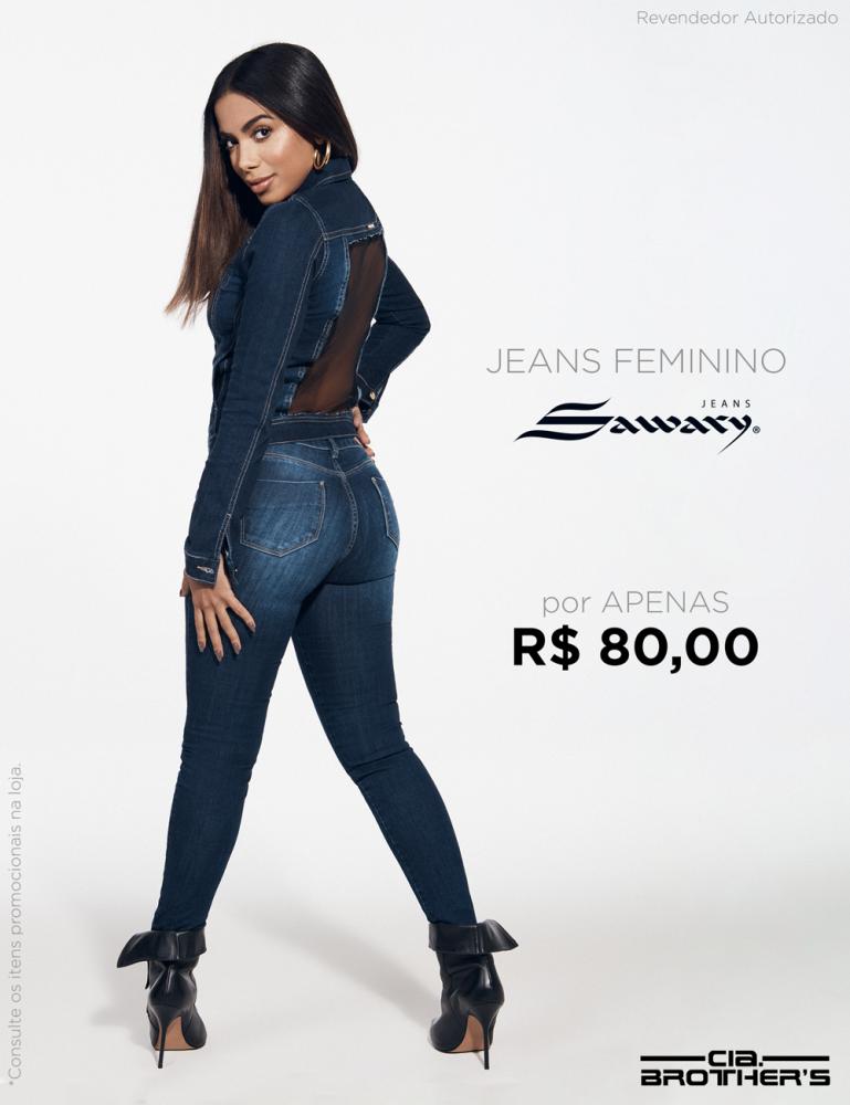 Calça feminina Sawary