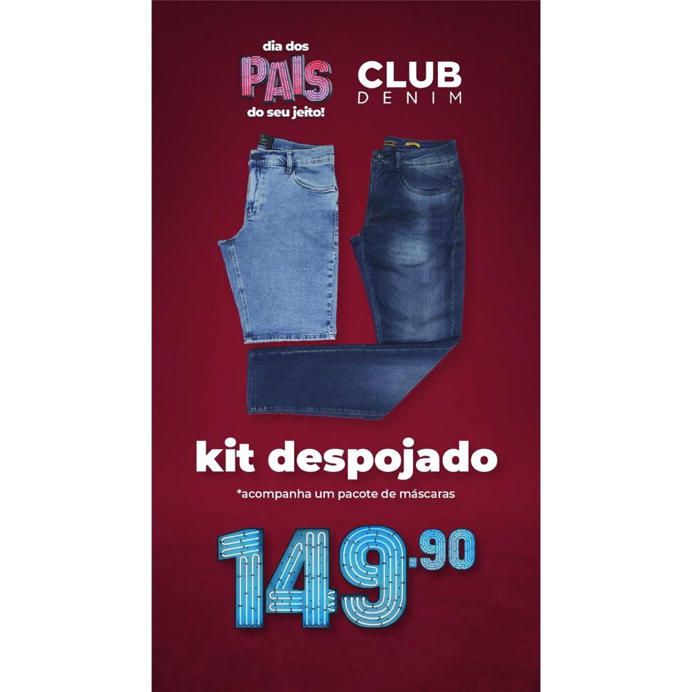 PROMO DIA DOS PAIS: Kit bermuda + calça