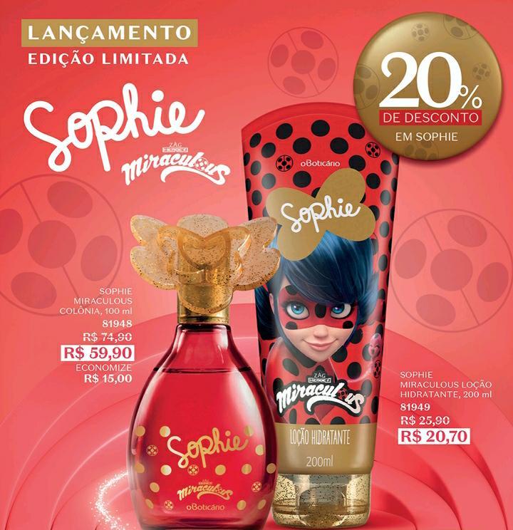 Perfume Sophie Miraculous