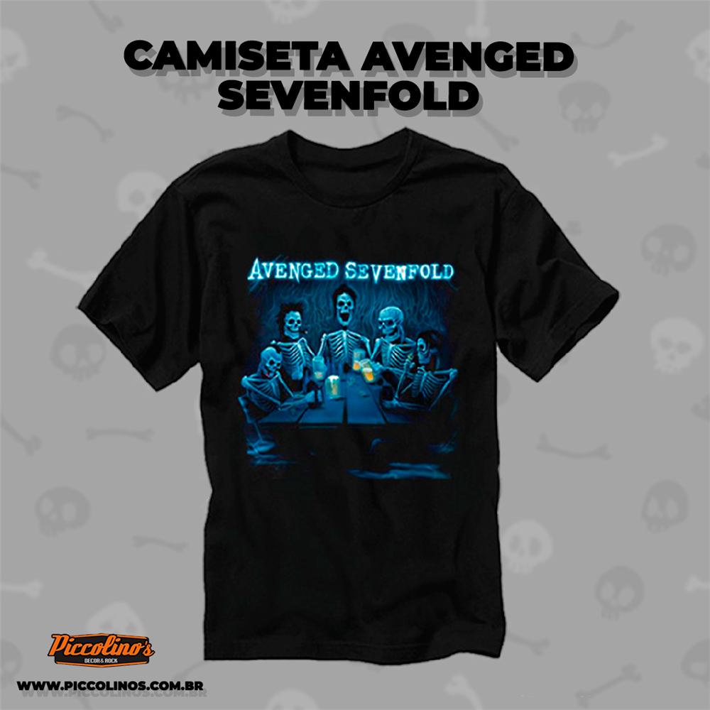 Camiseta banda Avenged Sevenfold
