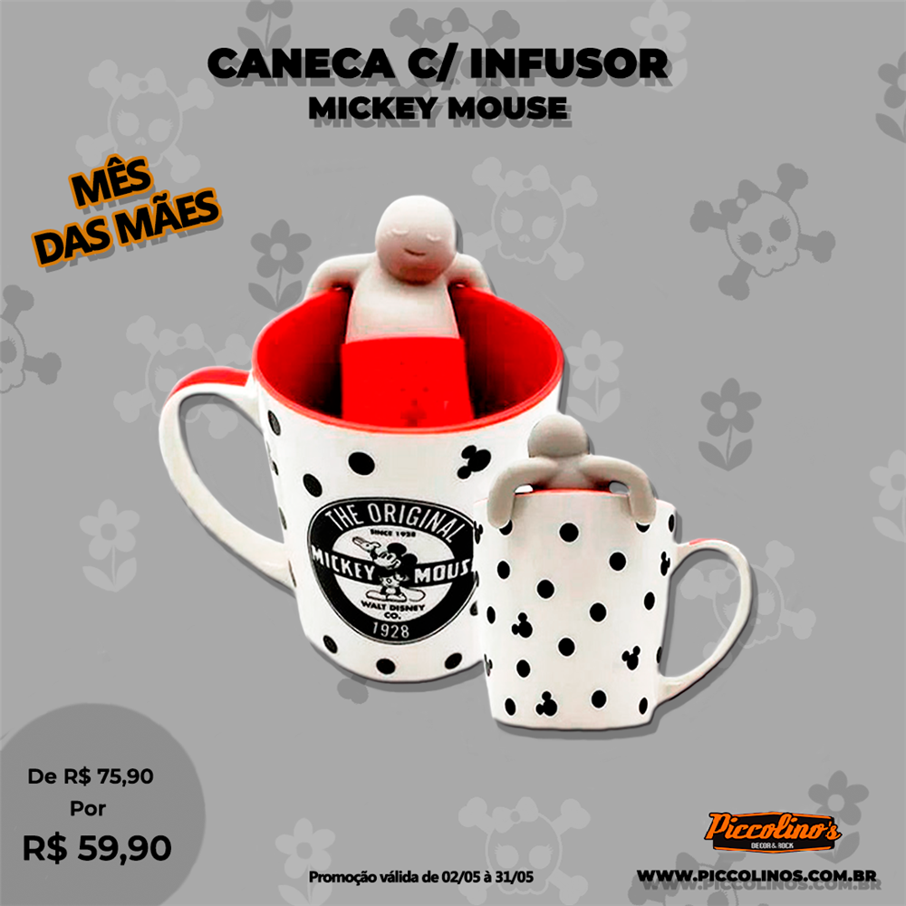 Caneca Mikey Mouse